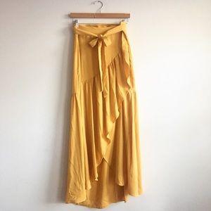 Yellow Summer Salsa Skirt Vibes 💃🏽